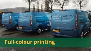 Overzicht full-colour printing