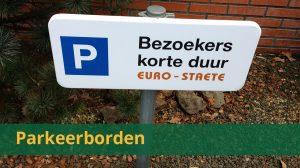 Overzicht parkeerborden