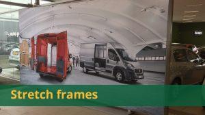 Overzicht stretch frames
