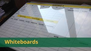 Overzicht whiteboards